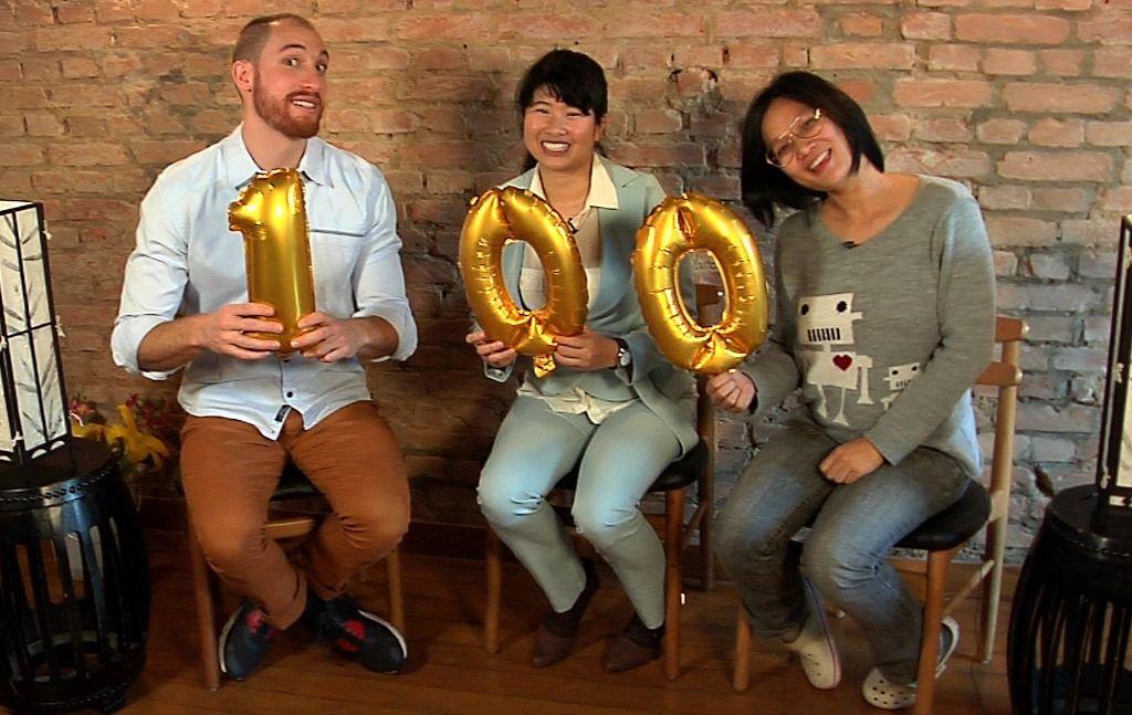 Yuko e Jiang participaram do Quentinha especial de comemoração pelo centésimo episódio de MasterChef