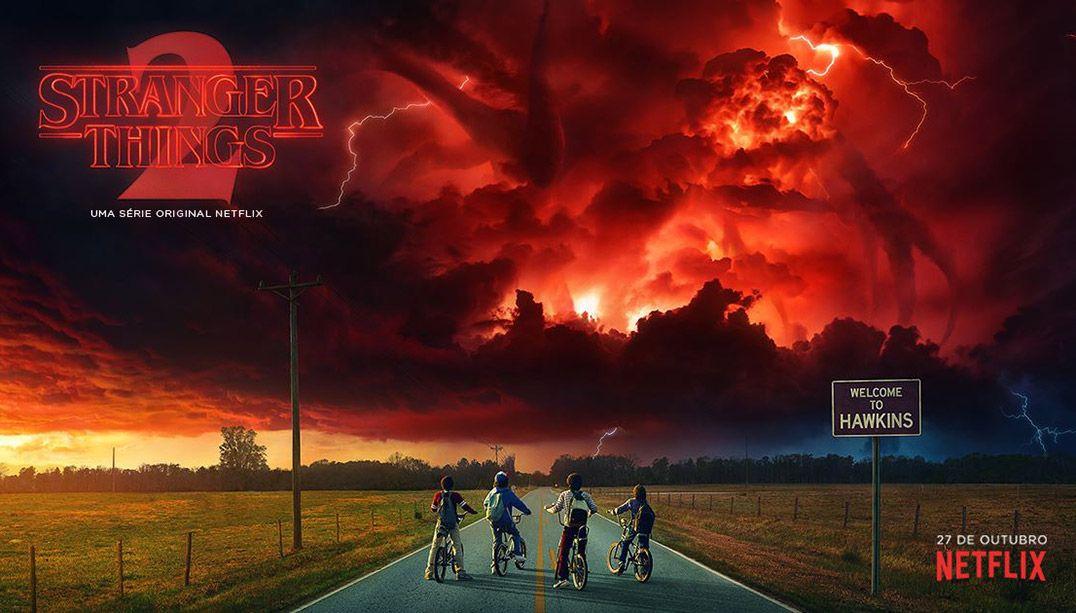 Netflix revela data de estreia e pôster de Stranger Things 2