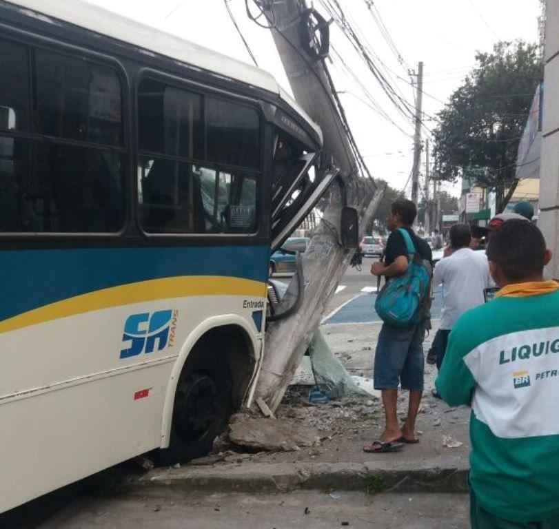 SP: acidente com ônibus deixa oito feridos nesta manhã
