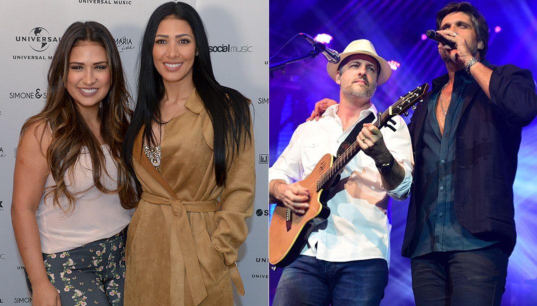 Simone e Simaria vão estrear no lugar de Victor e Leo / Francisco Cepeda e Leo Franco/AgNews