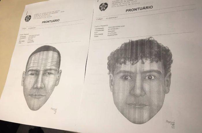 As buscas pelos suspeitos continuam. / (Foto: Mariana Procópio)