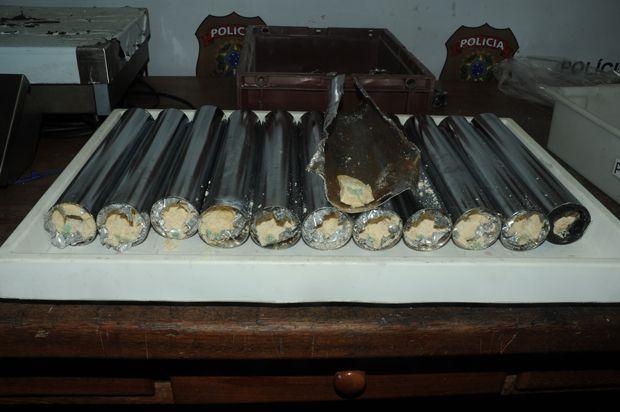 PF encontra cocaína em máquinas de fazer pastéis