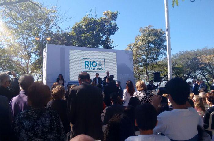 O memorial será construído no Mirante do Pasmado. / (Foto: Reprodução)