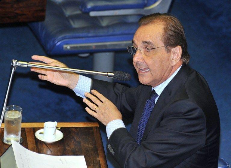 Agripino Maia, novo presidente do DEM, diz que vai andar pelo país para fortalecer o partido