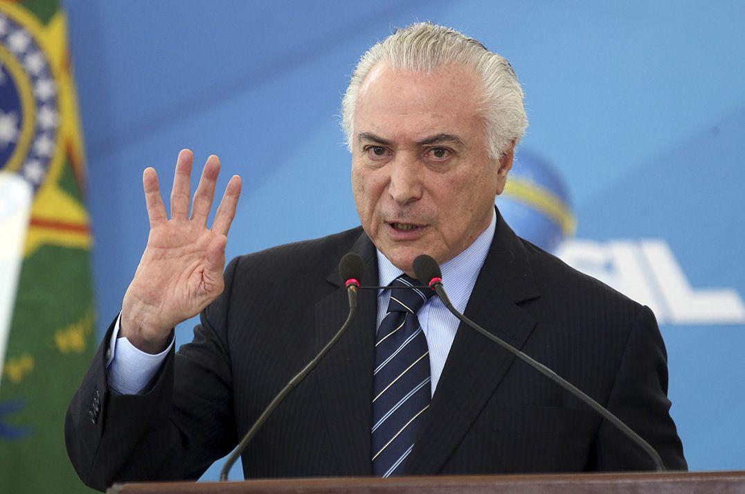 Michel Temer é acusado de corrupção passiva / Antonio Cruz/Agência Brasil