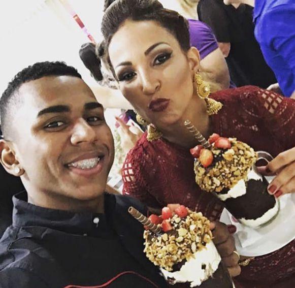 Valesca Popozuda faz homenagem para amigo nas redes sociais / Divulgação/Instagram
