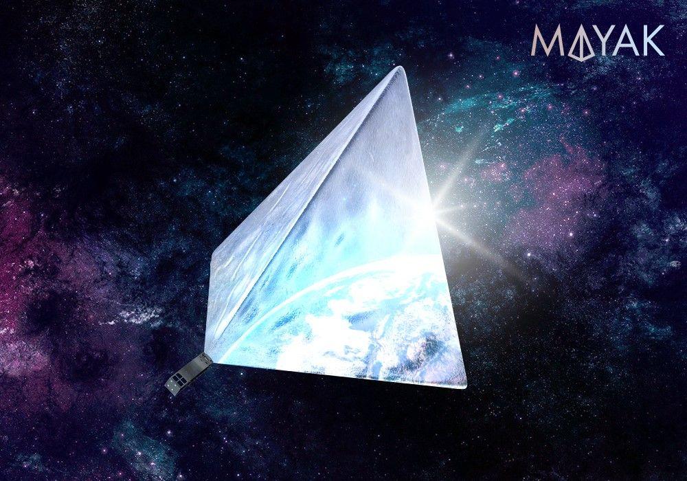 Maiak terá pequeno porte e será um dos objetos mais brilhantes do céu à noite / Cosmomayak/Facebook