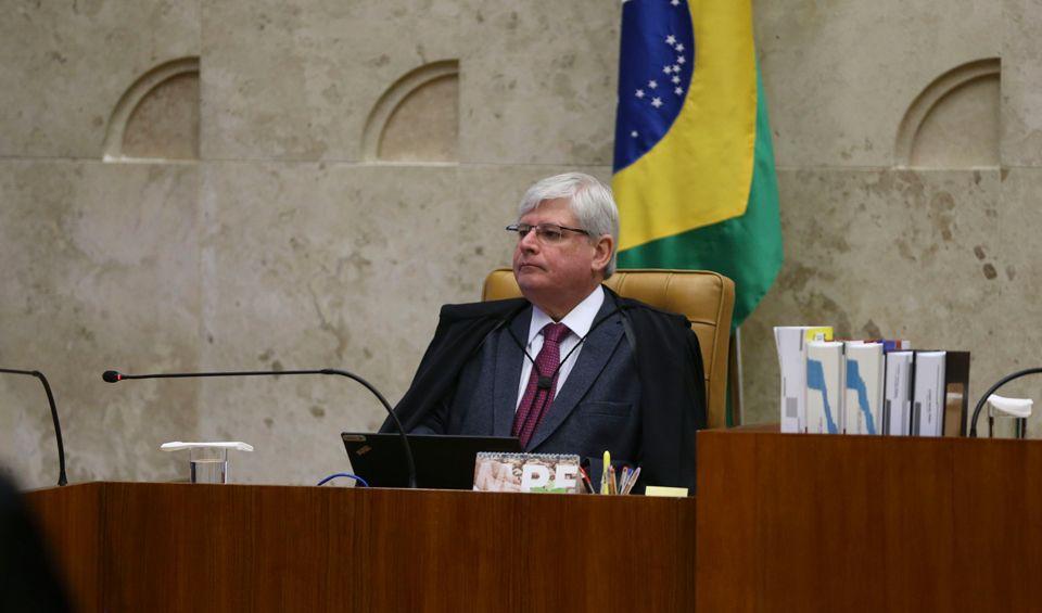 Procurador Rodrigo Janot participa da última sessão plenário do STF antes do recesso de julho / José Cruz/Agência Brasil