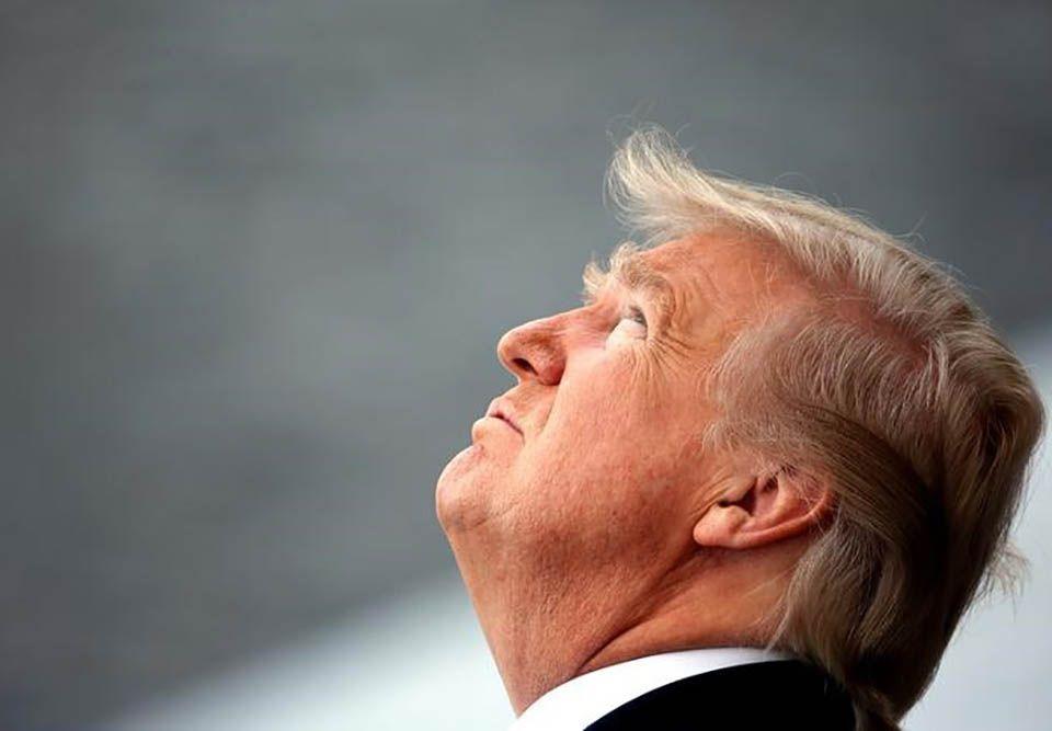 Trump critica pesquisa que mostra baixa aprovação