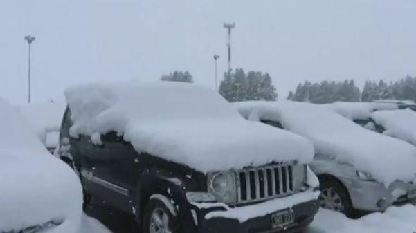 Turistas continuam presos em Bariloche após 'nevasca histórica'