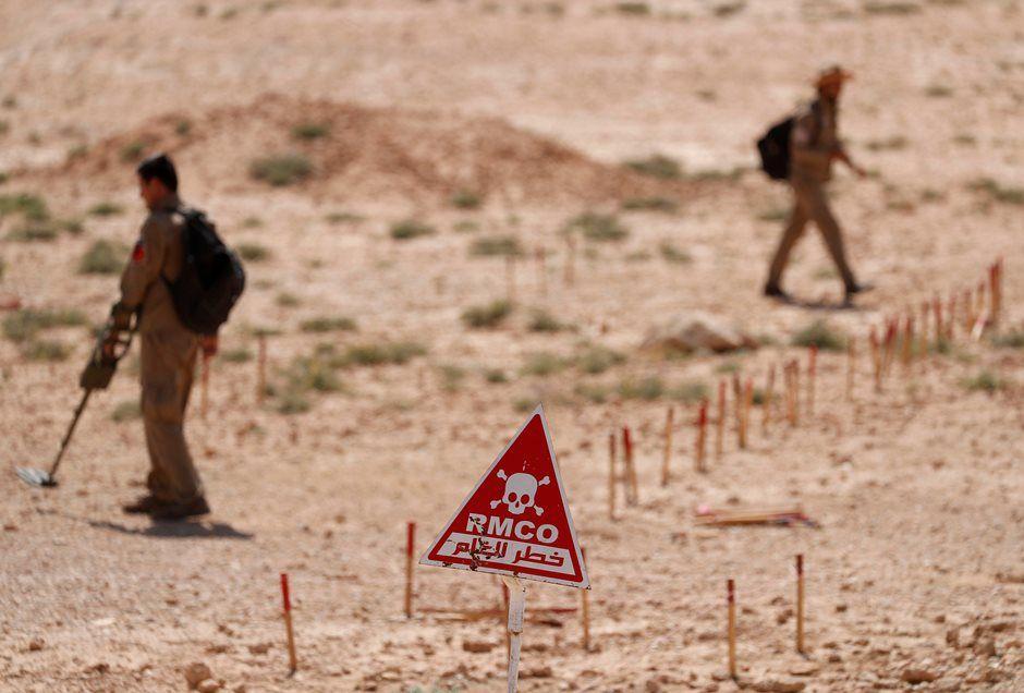 Pelo menos duas crianças morrem após explosão de mina na Síria