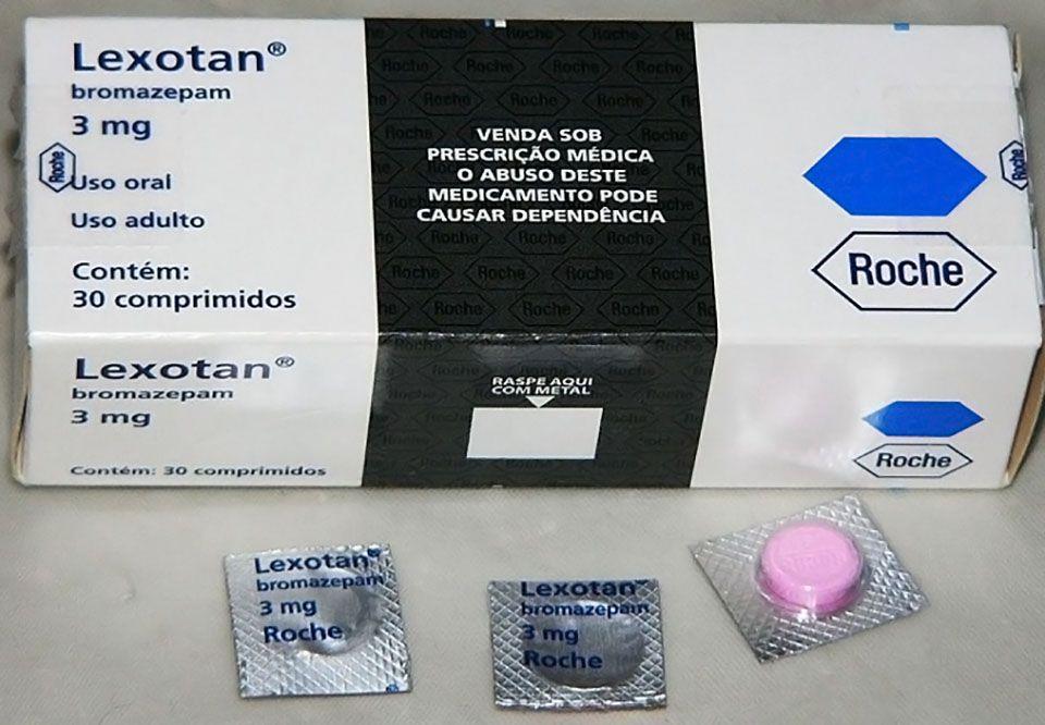 Anvisa suspende lote de Lexotan
