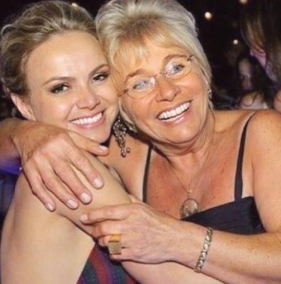 Sem ela, tudo seria mais difícil, diz Eliana para mãe