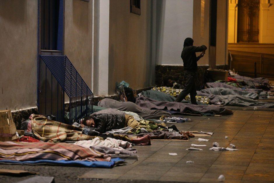 Frio causa morte de morador de rua no centro de SP