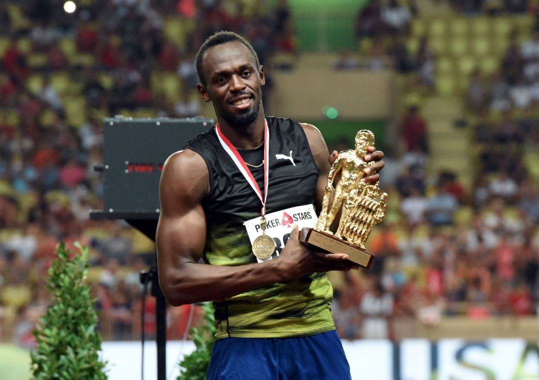Bolt vence etapa da Diamond League em Mônaco