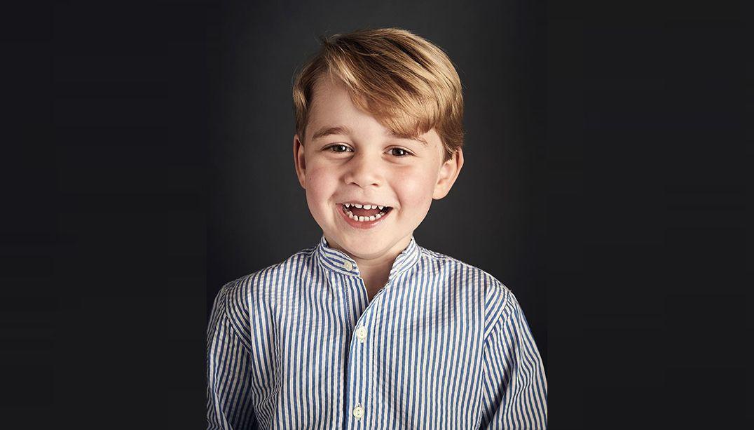Palácio de Kensington divulga nova foto oficial do príncipe George