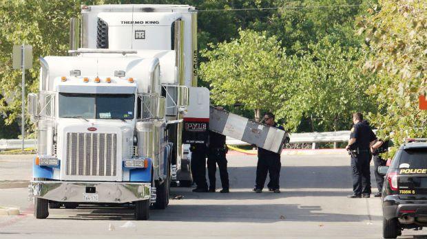Nove imigrantes morrem ao tentar entrar nos EUA em caminhão