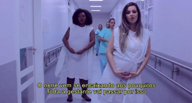 Enfermeiras cantam Despacito para falar sobre parto humanizado