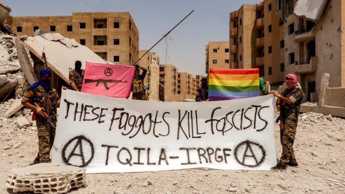 Grupo militar gay é formado para lutar contra o Estado Islâmico