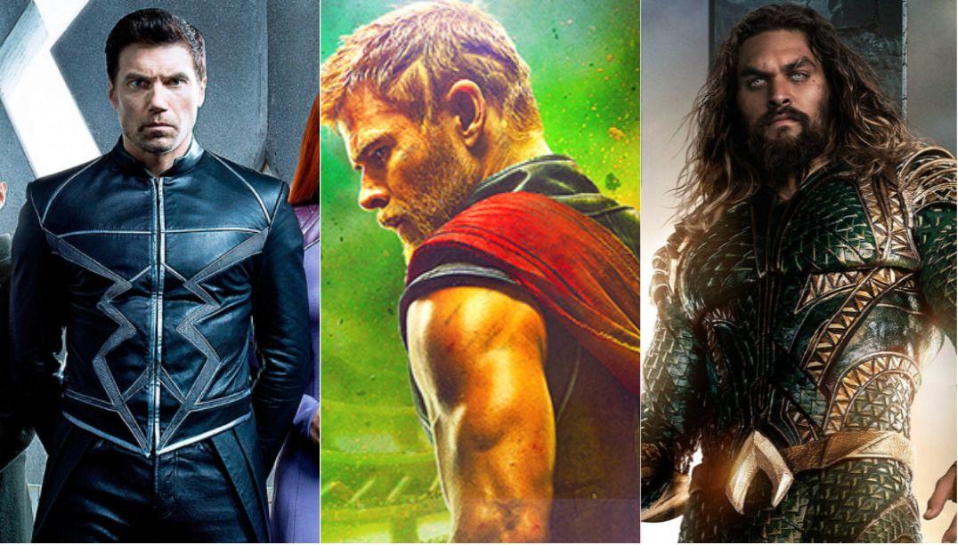 Veja a lista completa dos trailers divulgados na Comic Con