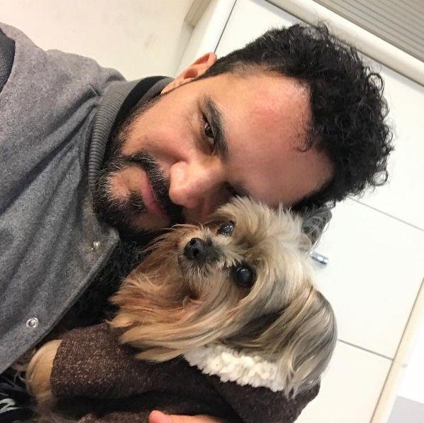 Luciano Camargo lamenta morte de seu cachorro
