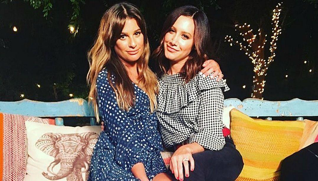 Lea Michele e Ashley Tisdale fazem cover juntas e param a web