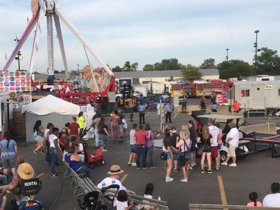 EUA: acidente em parque de diversões deixa um morto e sete feridos