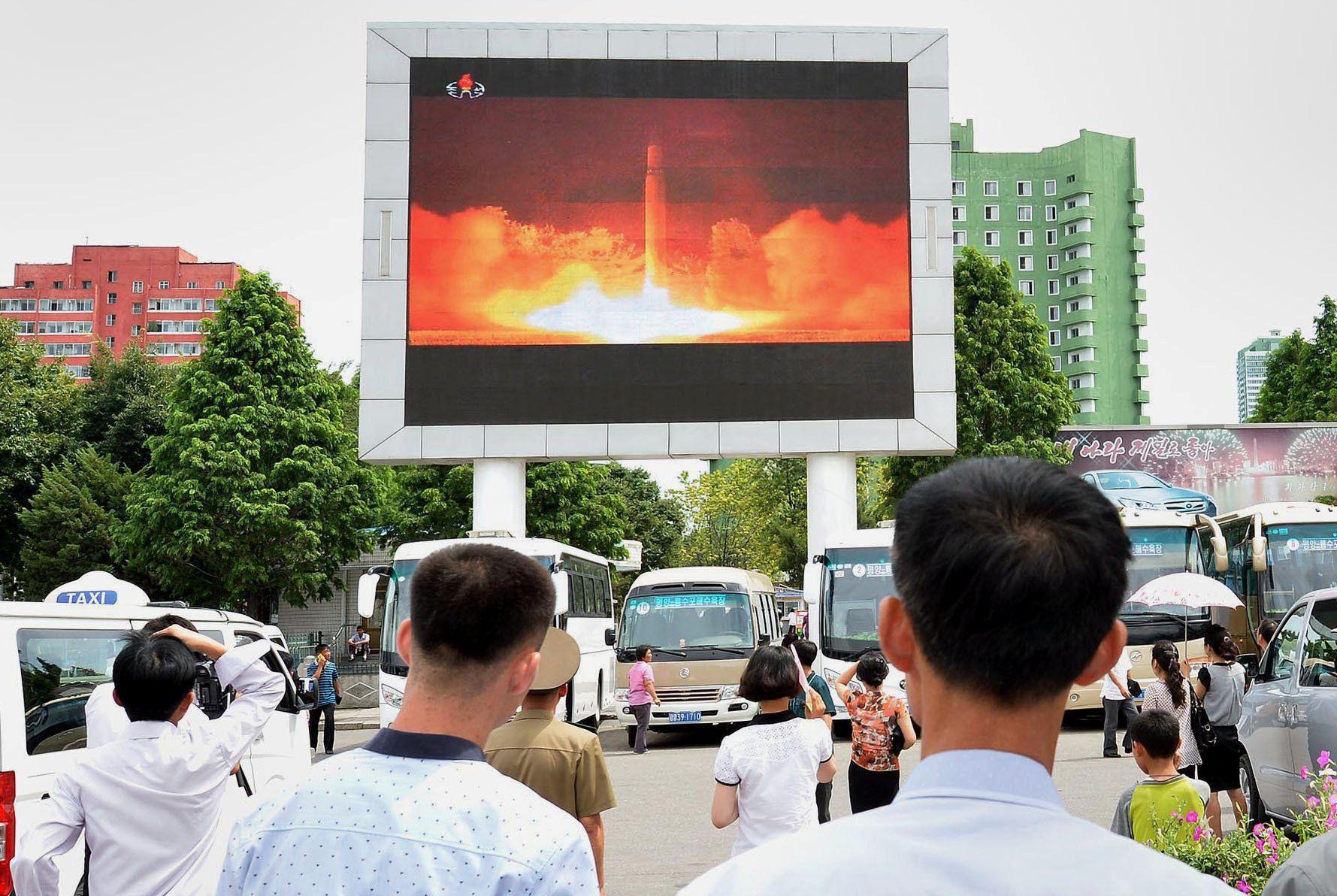 Governo da Coreia do Sul muda de postura após teste de míssil
