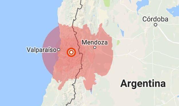Terremoto de magnitude 5,4 sacode a capital do Chile