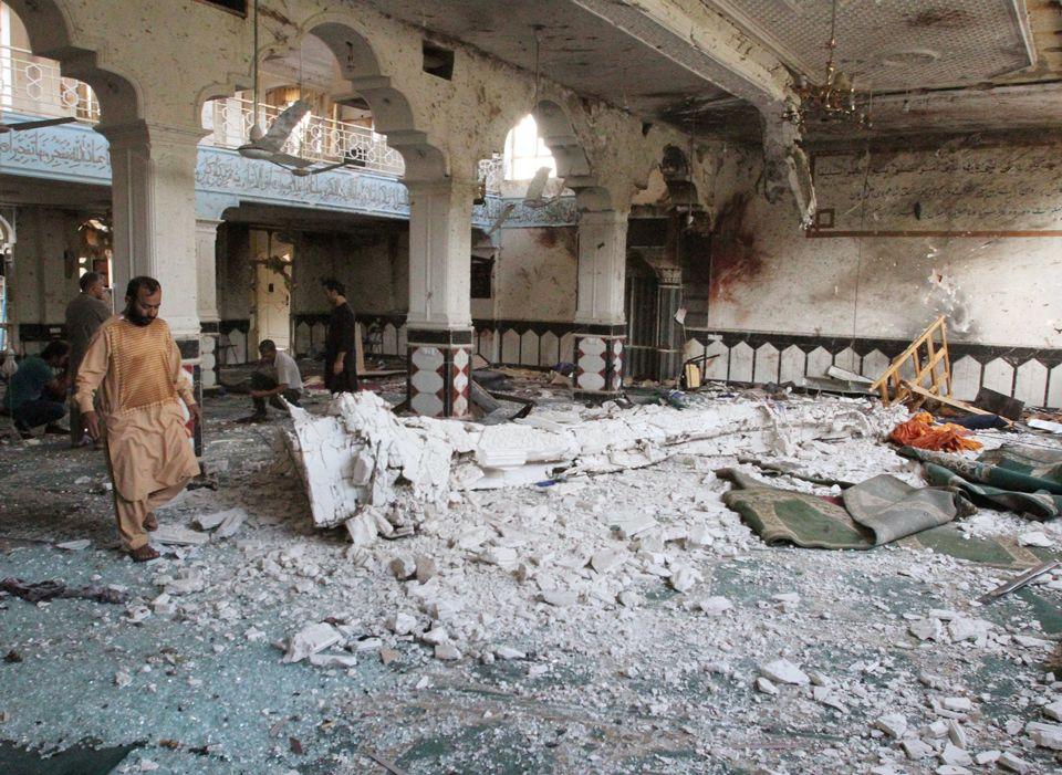 EI assume ataque em mesquita no Afeganistão