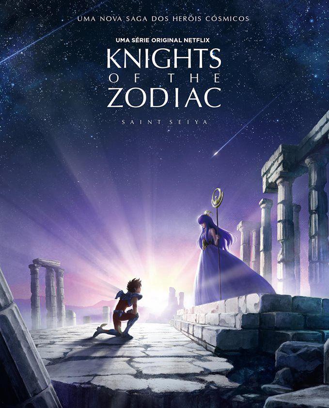 Netflix confirma animação original de Cavaleiros do Zodíaco
