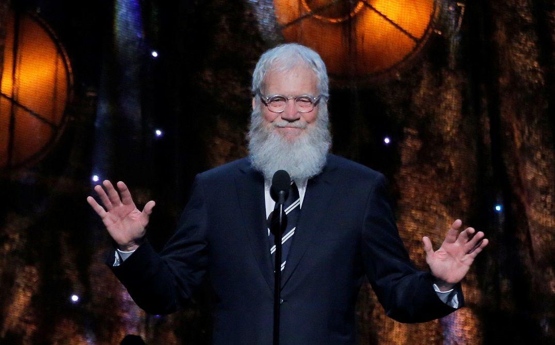 David Letterman voltará à televisão em 2018