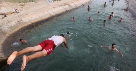 Com calor de 50º C, Iraque decreta feriado nacional