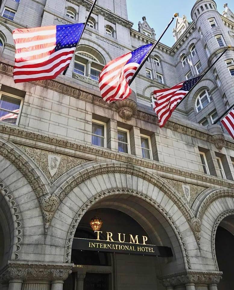Hotel de Trump lucra US$ 2 mi em quatro meses
