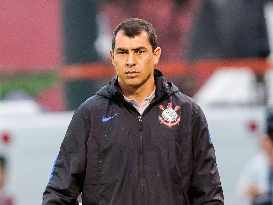 Fábio Carille, técnico do Corinthians / Divulgação