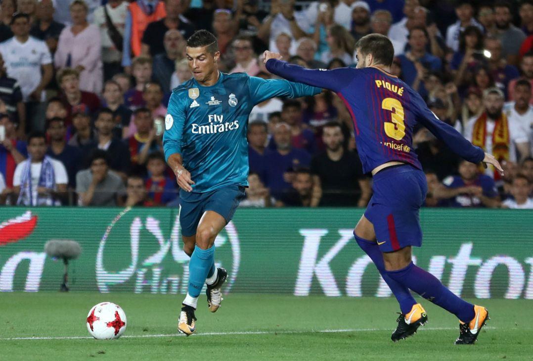Real visita o Barça e vence por 3 a 1 na ida da Supercopa - Band.com.br 86f79e17fd65d