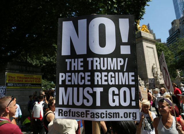 Trump é questionado por opinião sobre protestos