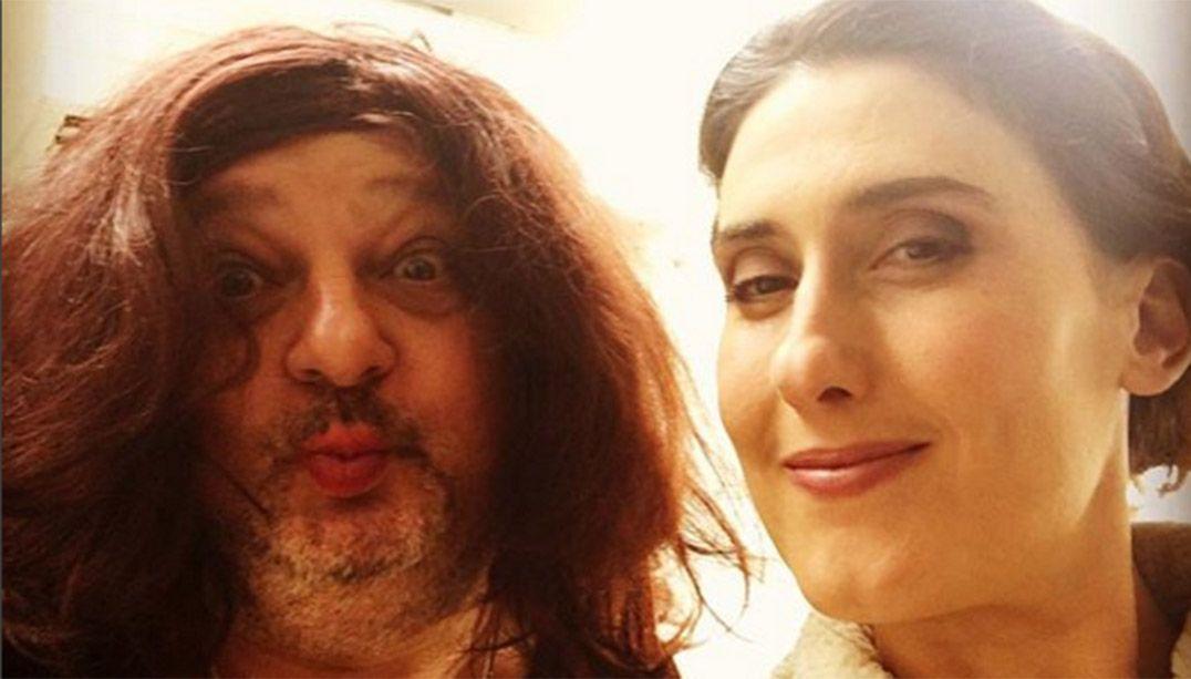 Paola posta foto com Jacquin de peruca: 'Amo meu trabalho'