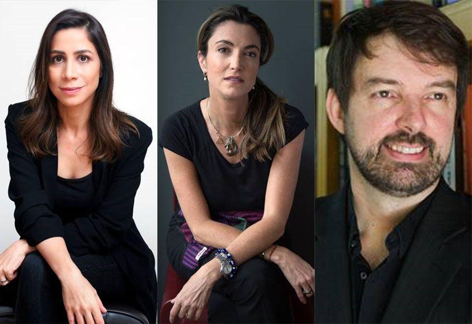 Julia Duailibi, Patrícia Campos Mello e Fernando Schuler compõem equipe do BandNews / Renato Parada/Divulgação, Felipe Campos Mello/Divulgação e Divulgação