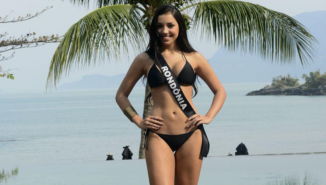 Caçula do concurso, Miss Rondônia defende cirurgias plásticas