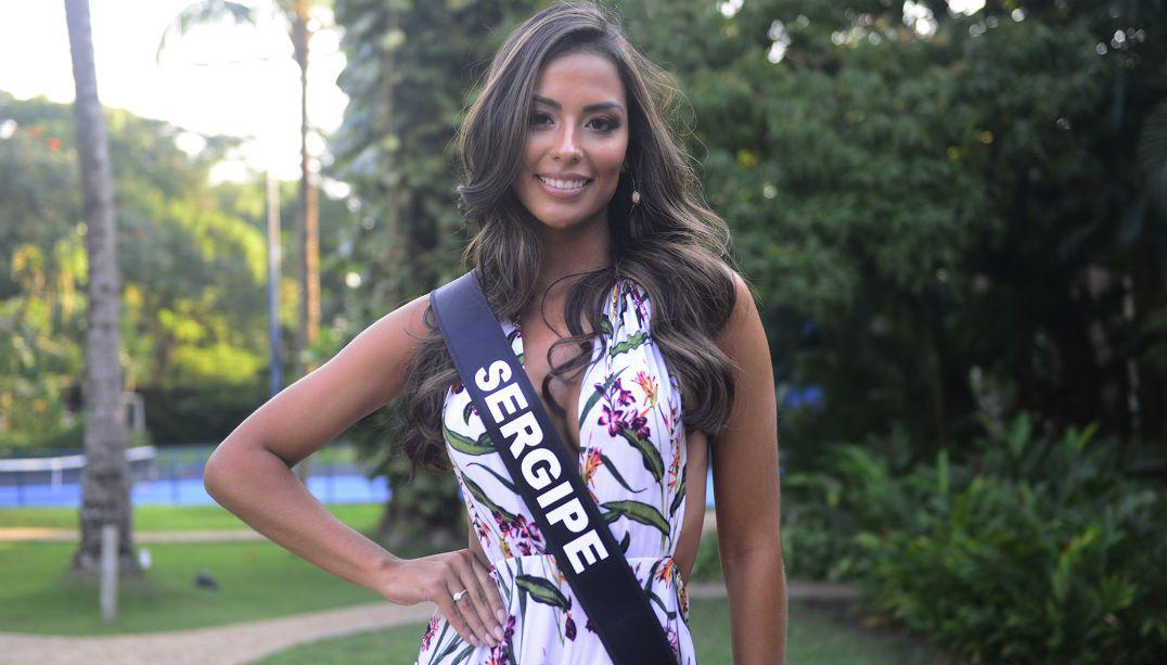 Já enfrentei preconceito por ser bonita, diz Miss Sergipe