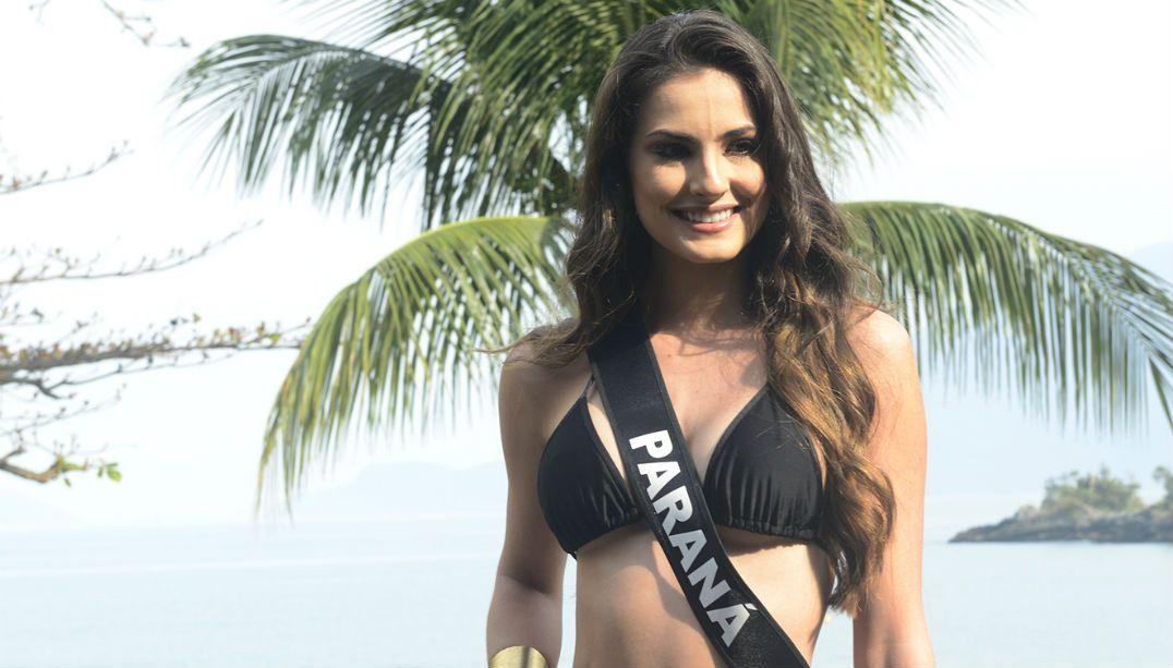 Candidata do Paraná chegou a pesar 48 kg
