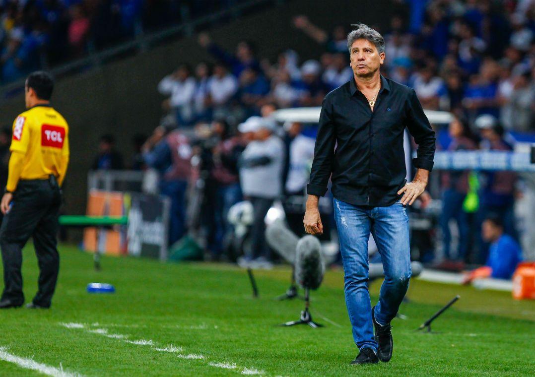 Renato Gaúcho diz que torcedor gremista pode ter orgulho da equipe