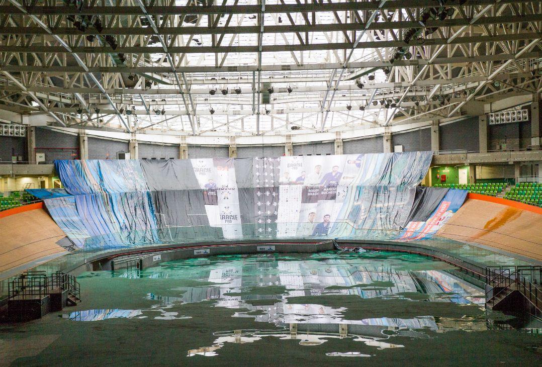 Reconstrução do teto do Velódromo do Rio custará R$ 199 mil