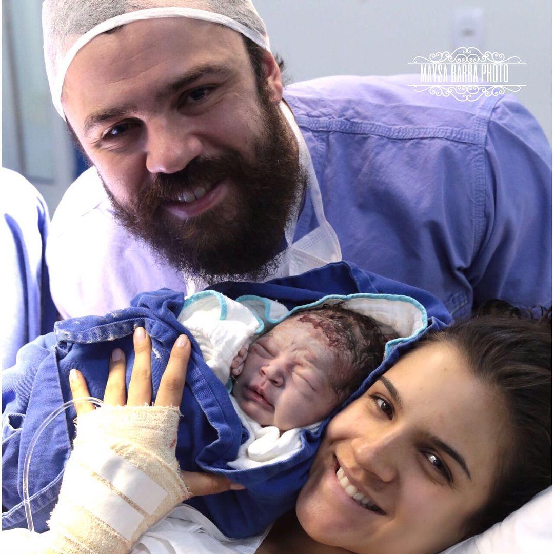 Nasce primeiro filho de Mateus, da dupla Jorge e Mateus