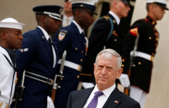 Secretario de Defensa de Estados Unidos Jim Mattis / Kevin Lamarque / Reuters