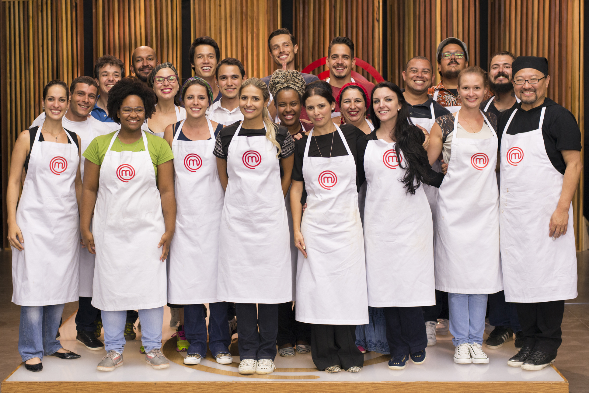 Os 21 participantes da terceira temporada do MasterChef