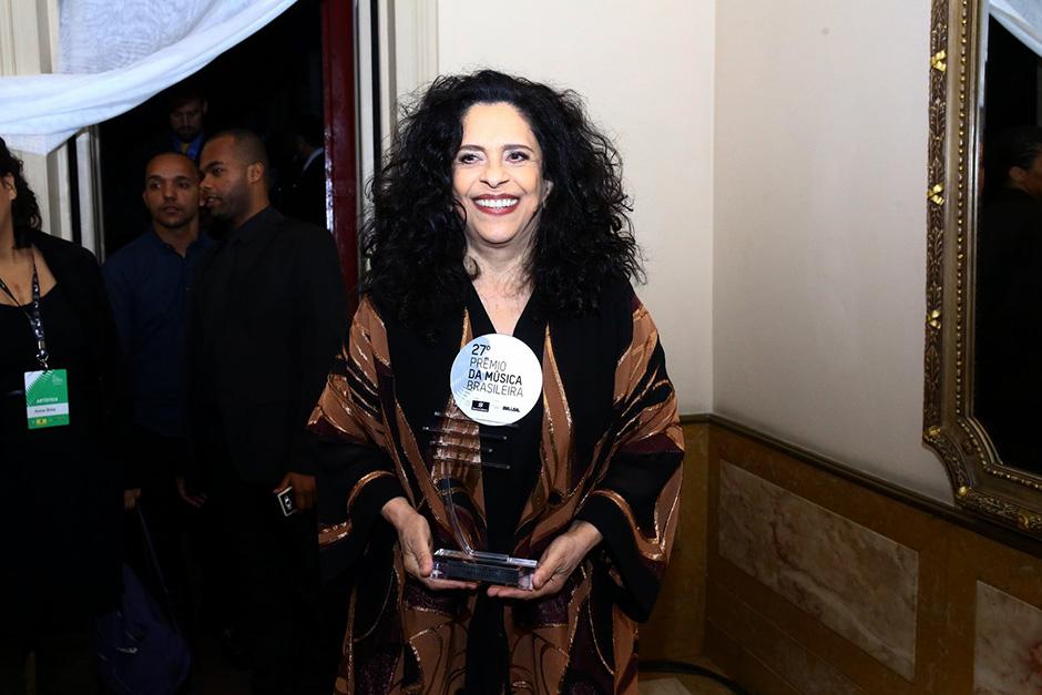 Prêmio da Música Brasileira reúne famosos no Rio