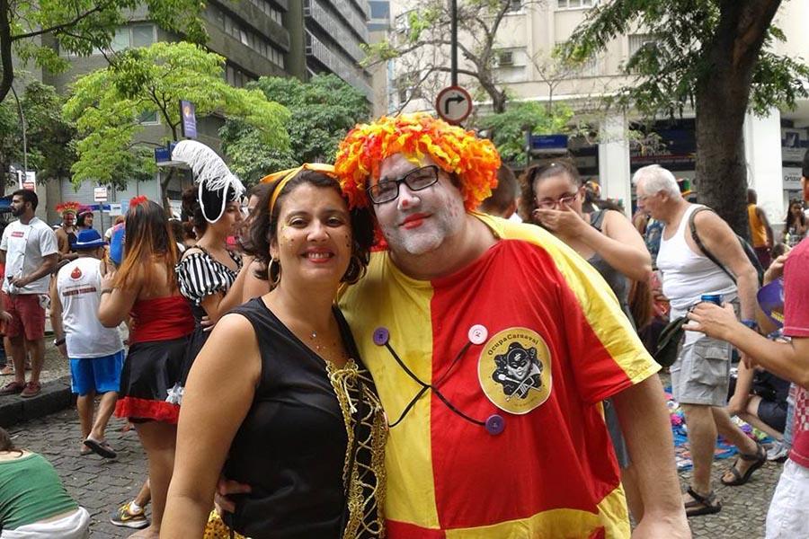 Folião, Tarcísio Motta (PSOL) faz sucesso no Rio