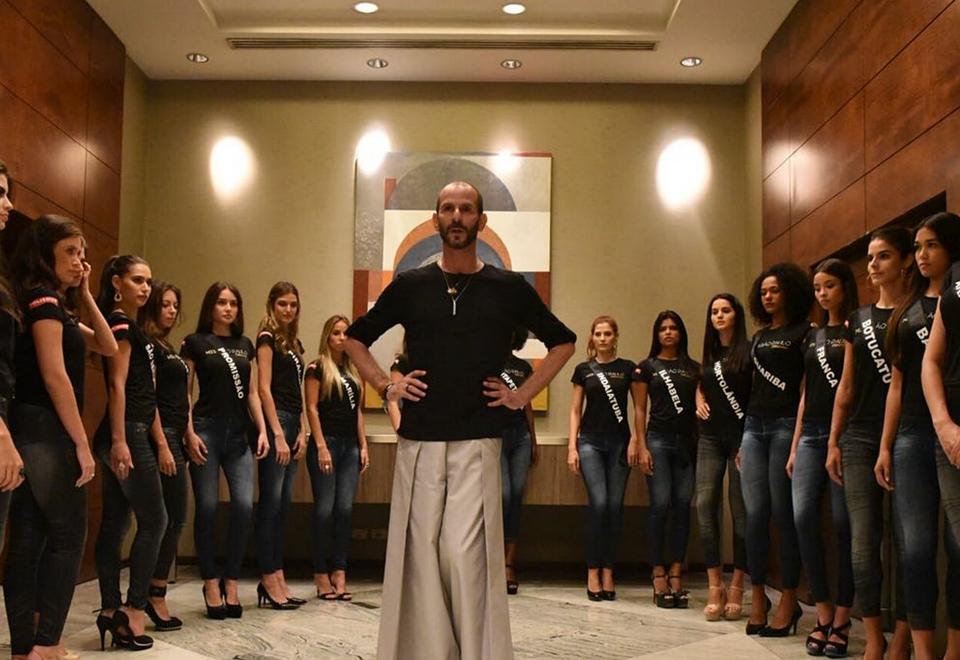 Candidatas ao Miss São Paulo 2018 fazem aula de passarela